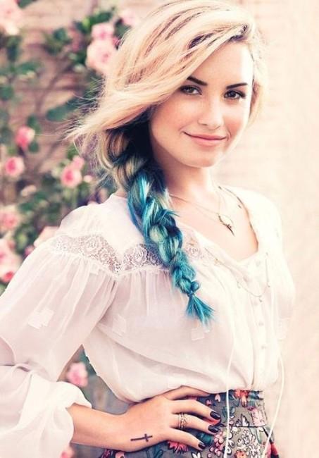 Demi Lovato sexy cosplay picture