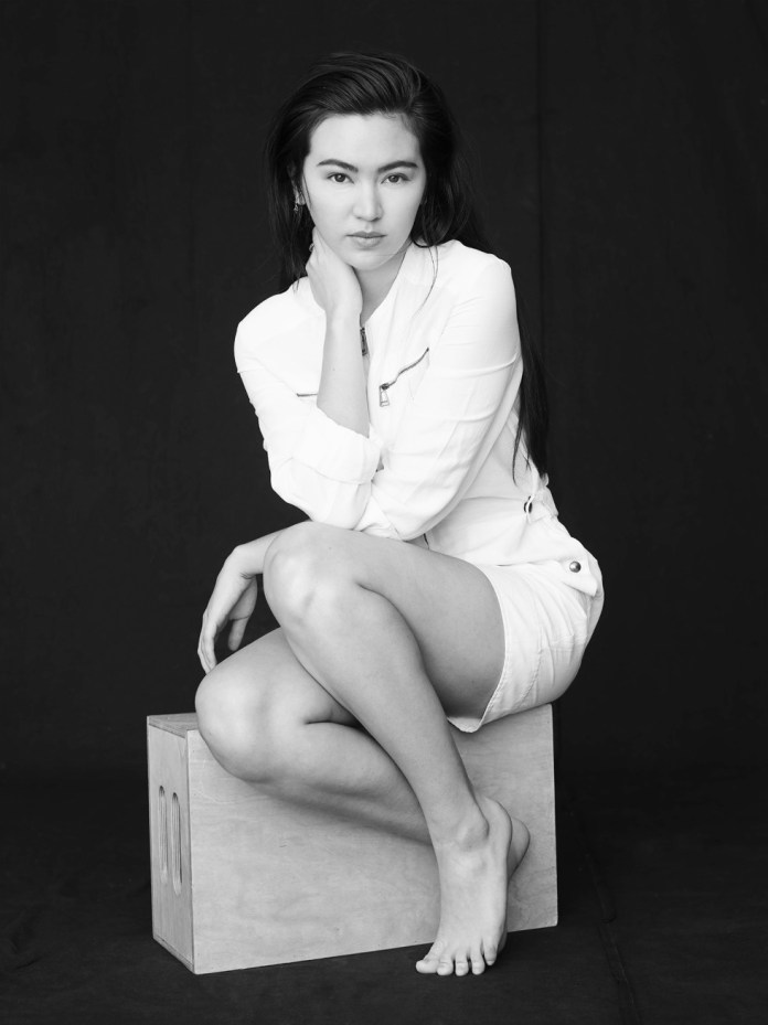 Jessica Henwick sexy black and white photoshoot still