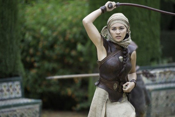 Jessica Henwick sexy still from her tv show Games of thrones