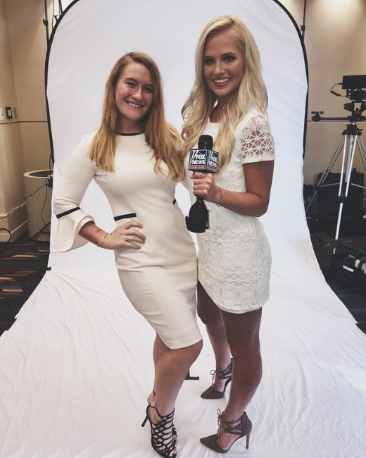 Tomi Lahren hot looking at fashion show