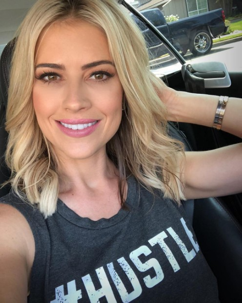 christina el moussa instagram hot selfie