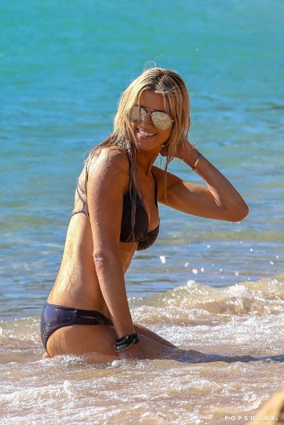 latest christina el moussa bikini hot image