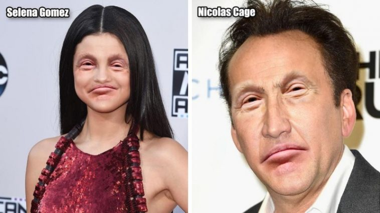 Hilarious upshots Comes When Celebrities With Donald Trump's Eyes and Mouth