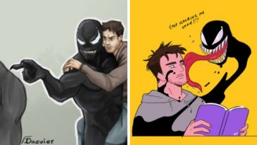 30 Fan art of Venom and Eddie Brock's relationship