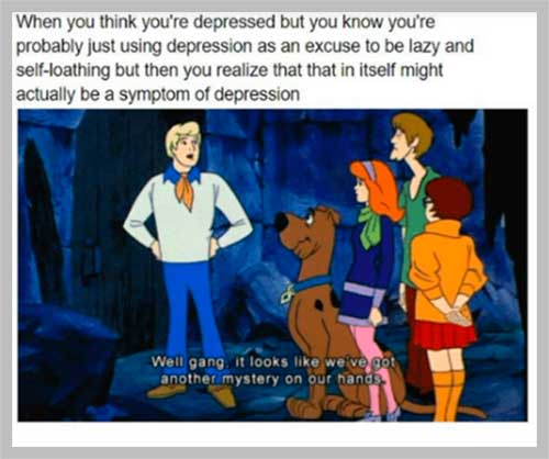 Depression memes, memes about depression, funny depression memes, depression and anxiety memes