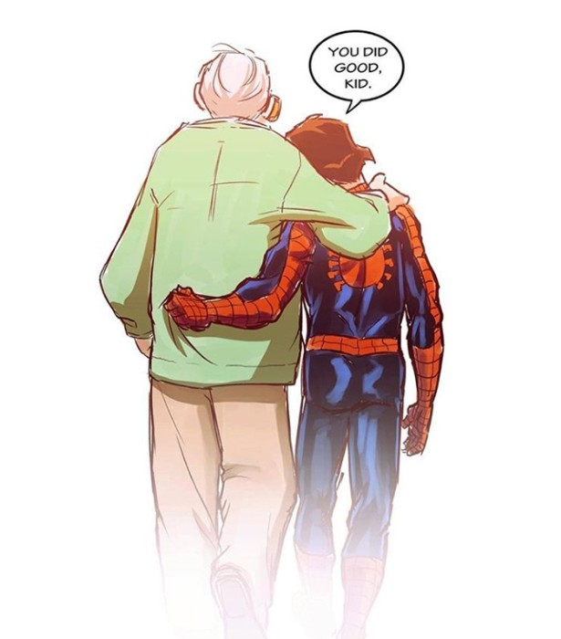 Stan Lee Touching Tribute By Fan Arts, dead marvel Stan Lee