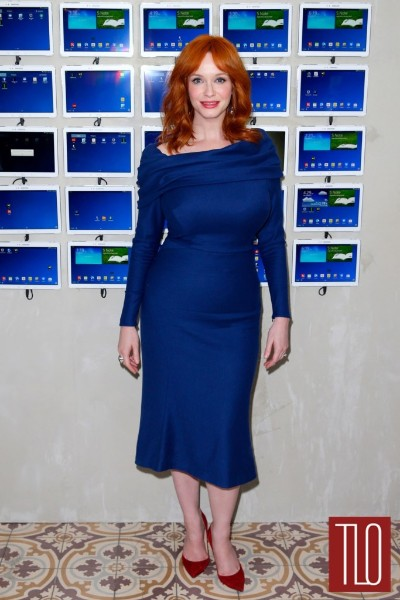 christina hendricks big boobs show image