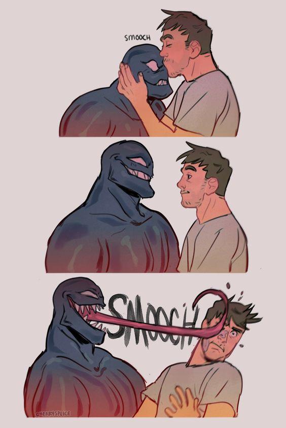 venom and eddy brock relationship fan art