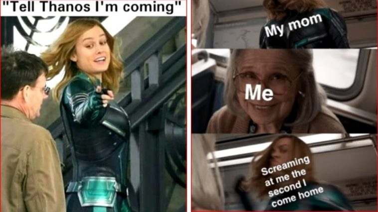 30+ Funniest Captain Marvel Memes Prove She Can Be Extremely Hilarious