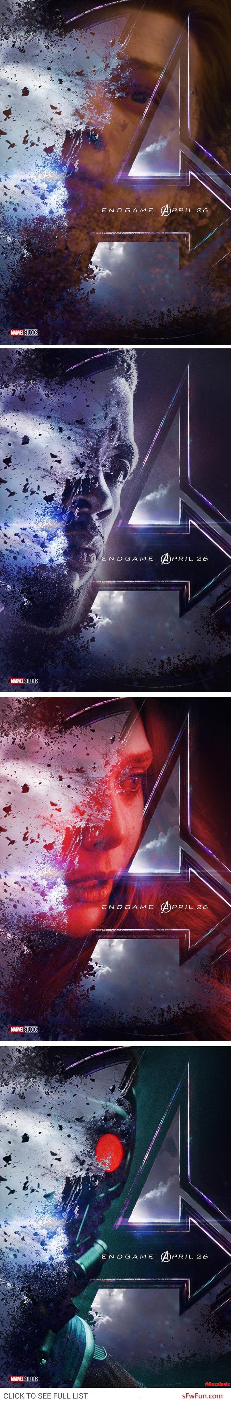 Avengers Endgame concept art, endgame fanart