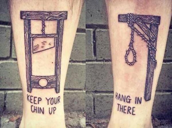 Funny Tattoos, creative tattoos, tattoo fail
