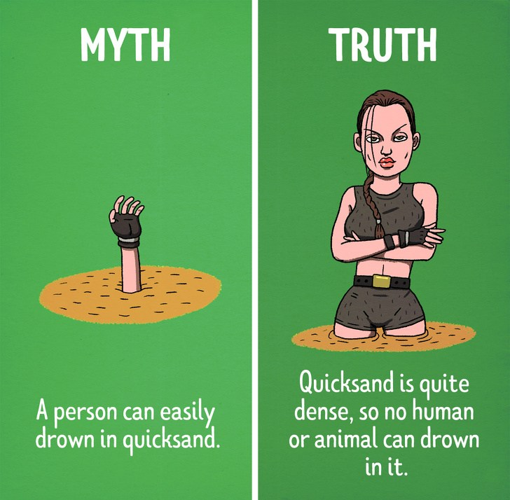 Hollywood Myths, funny Hollywood lies