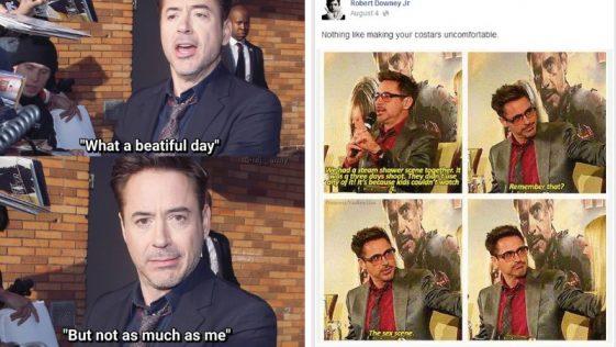 Robert Downey Jr. Is Tony Stark In Real Life [30+ Fukin Proof]