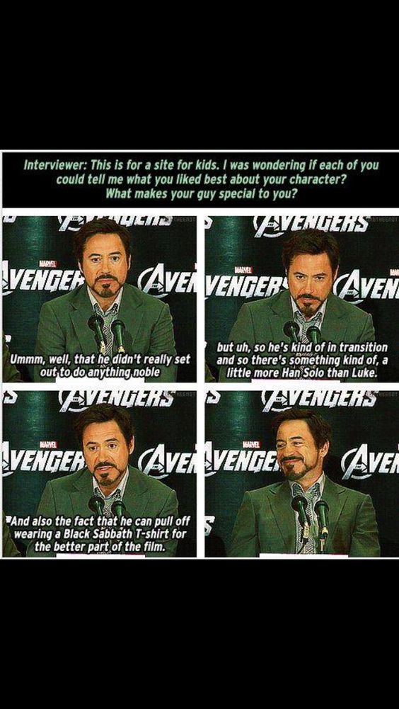 Robert Downey Jr. memes ,Robert Downey Jr. Is Tony Stark In Real Life heres why