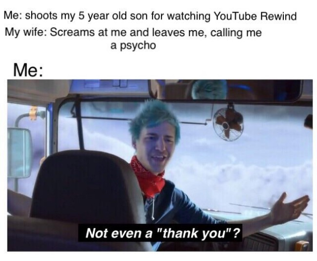 YouTube Rewind 2018 meme, YouTube Rewind memes that are funny