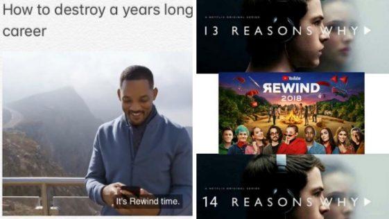 funny youtube rewind memes