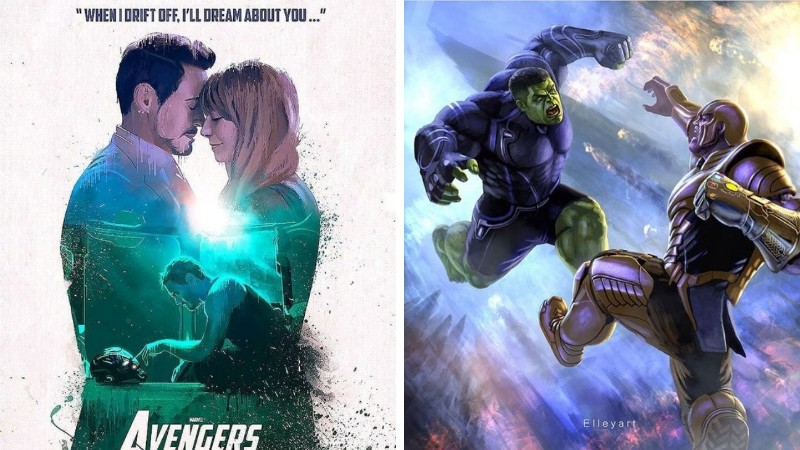Avengers Endgame Release Date Pinterest: 17 Avengers: Endgame Hertbreaking FanArt & Interesting Fan