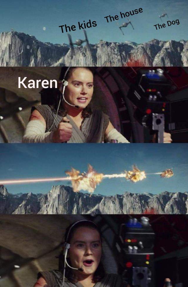Karen meme, Karen stealing her kids