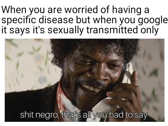 That's All You Had To Say Memes, Shit Negro That's All You Had To Say Memes, Samuel L. Jackson memes, Pulp Fiction memes, Shit nygro memes
