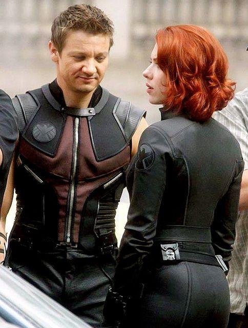 28 Sexiest Natasha Romanoff aka Black Widow Booty Pics