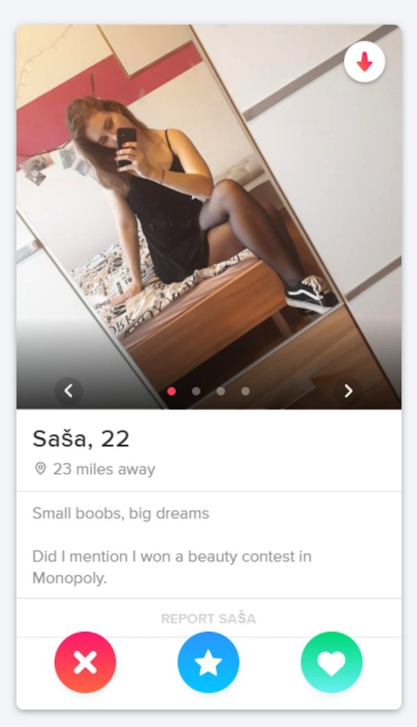 Tinder Profile , funny Tinder Profile , hilarious and creative Tinder Profile