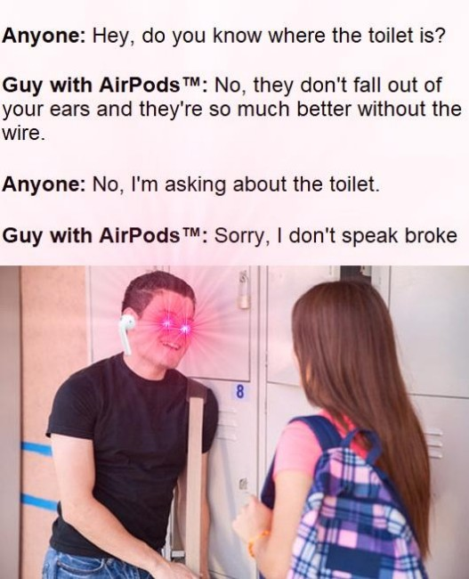 24 Funniest AirPods Memes You Need To Laugh At - sFwFun