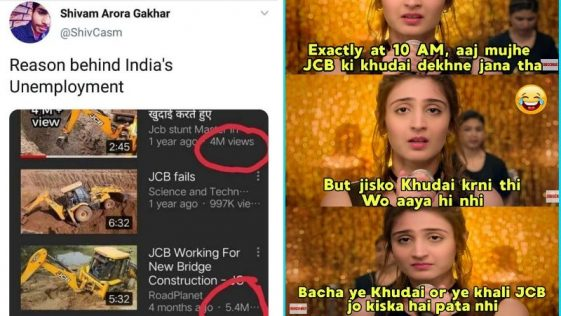 32 Funnest JCB Memes Every India Should Relate To