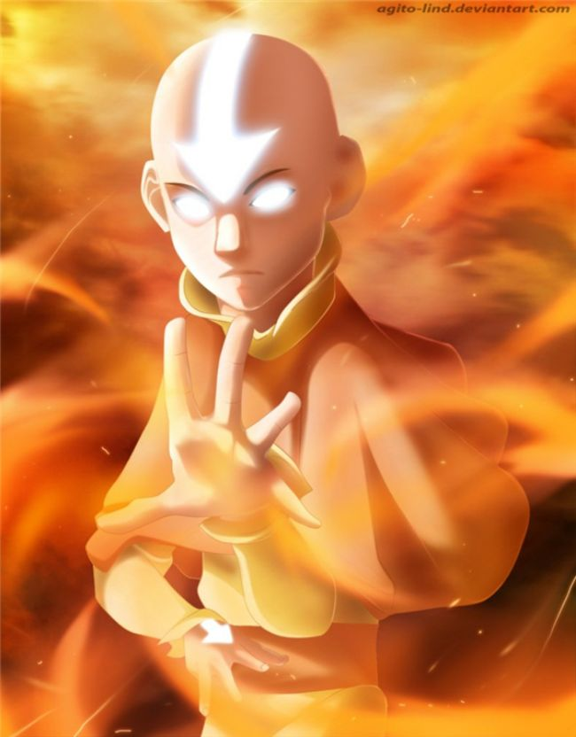 Aang – Avatar Most Overpowered Anime Character