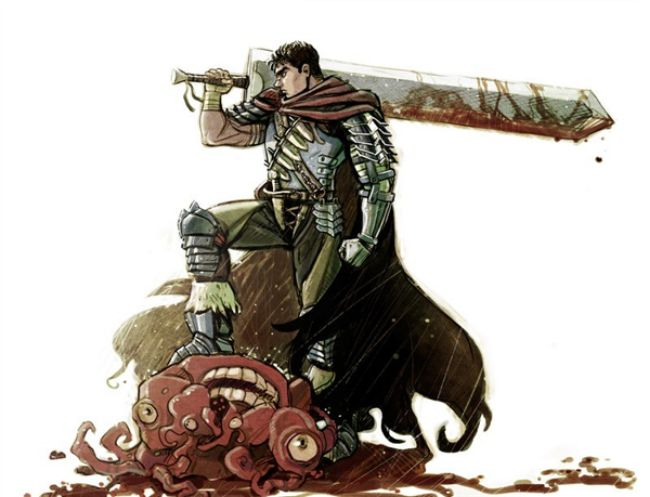 Guts – Berserk Most Overpowered Anime Character 2