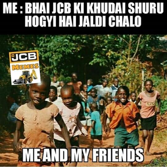 JCB Memes funny jcb ki khudai memes trending on twitter