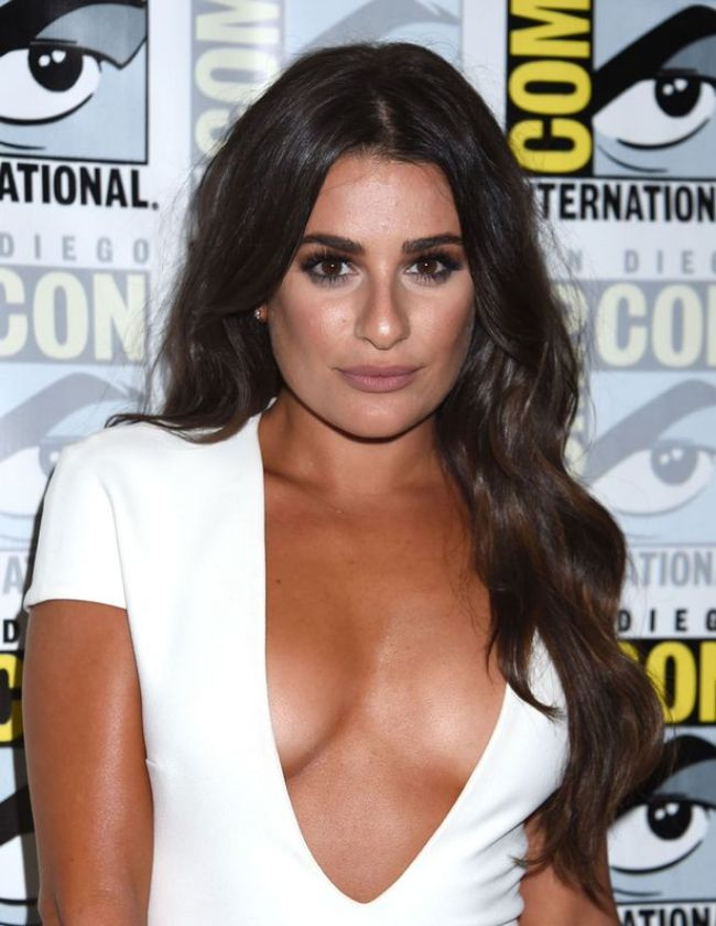 Lea Michele hot photos sexy instagram bikini near-nude pics