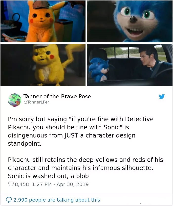 Sonic the Hedgehog memes and funny sonic tweets from fans