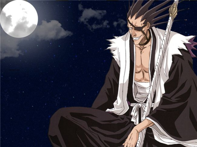 Zaraki Kenpachi – Bleach Most Overpowered Anime Character 2