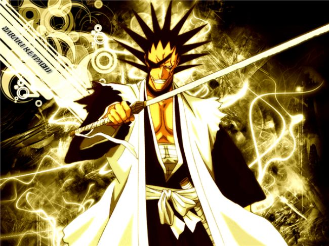 Zaraki Kenpachi – Bleach Most Overpowered Anime Character