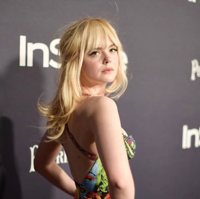 Elle Fanning sexy bikini pics hot instagram photos
