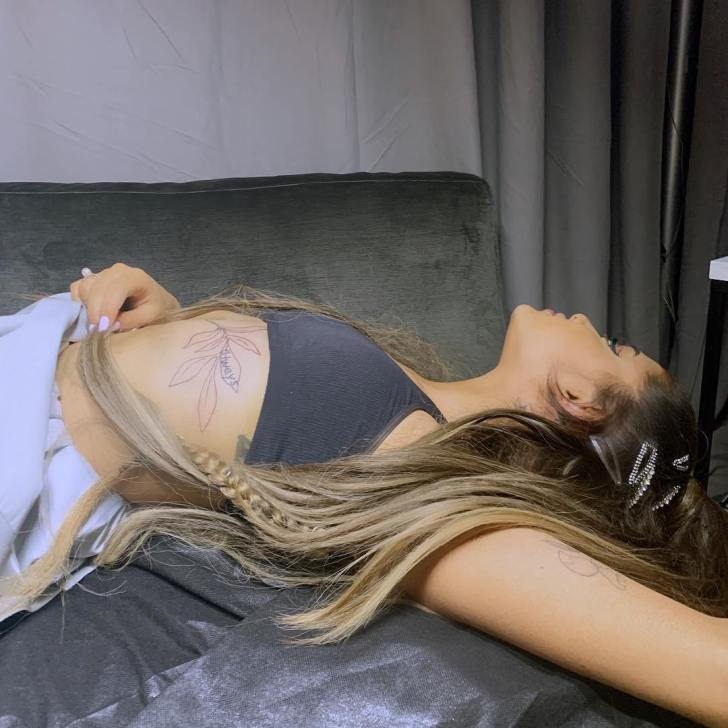 Ariana Grande is the Best Celebrity Tattoos of all Time