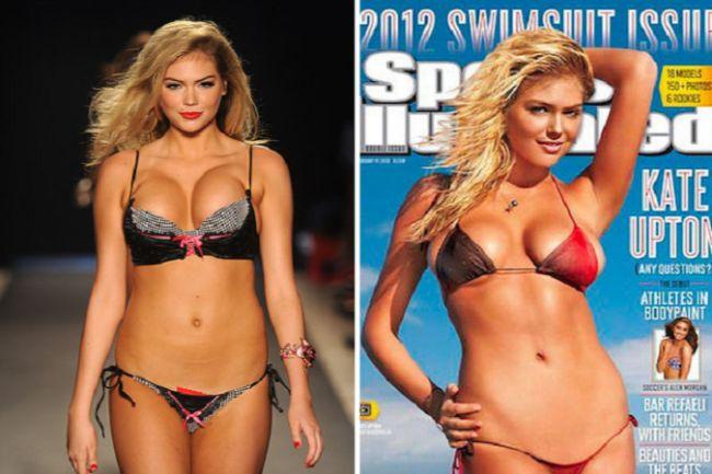 Celebrity Photoshop Fails Kate Upton