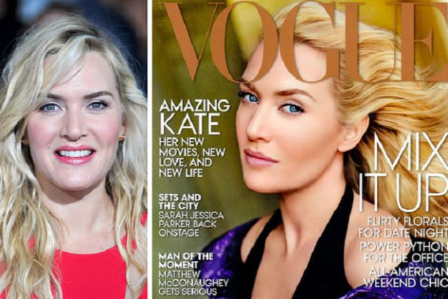 Celebrity Photoshop Fails Kate Winslet