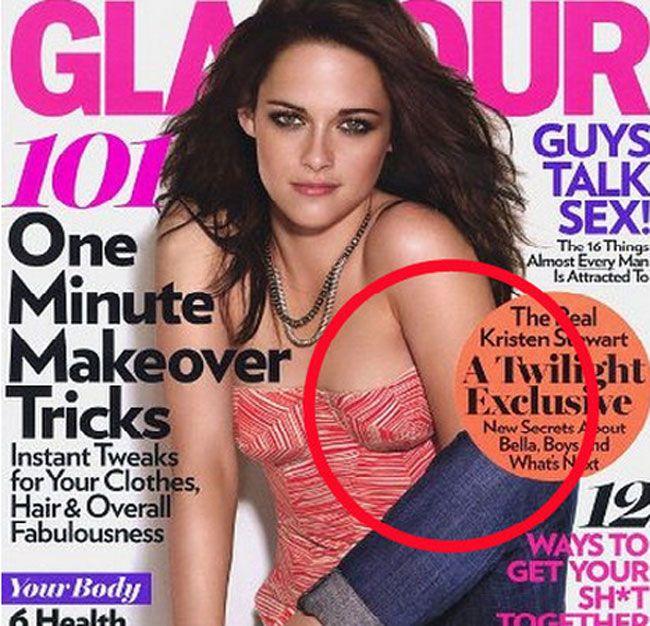 Celebrity Photoshop Fails Kristen Stewart