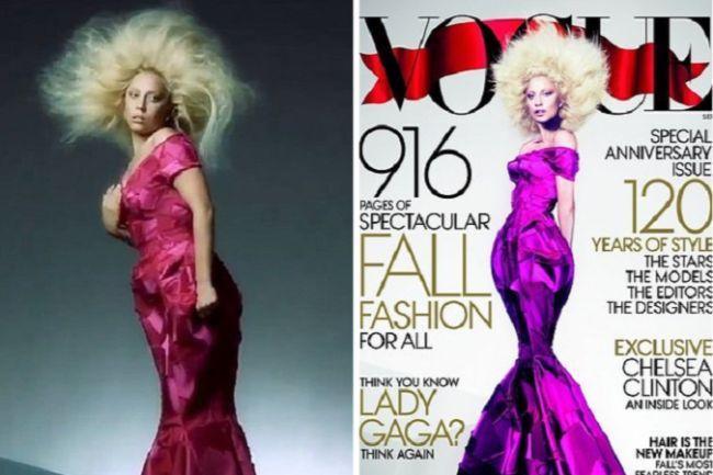 Celebrity Photoshop Fails Lady Gaga