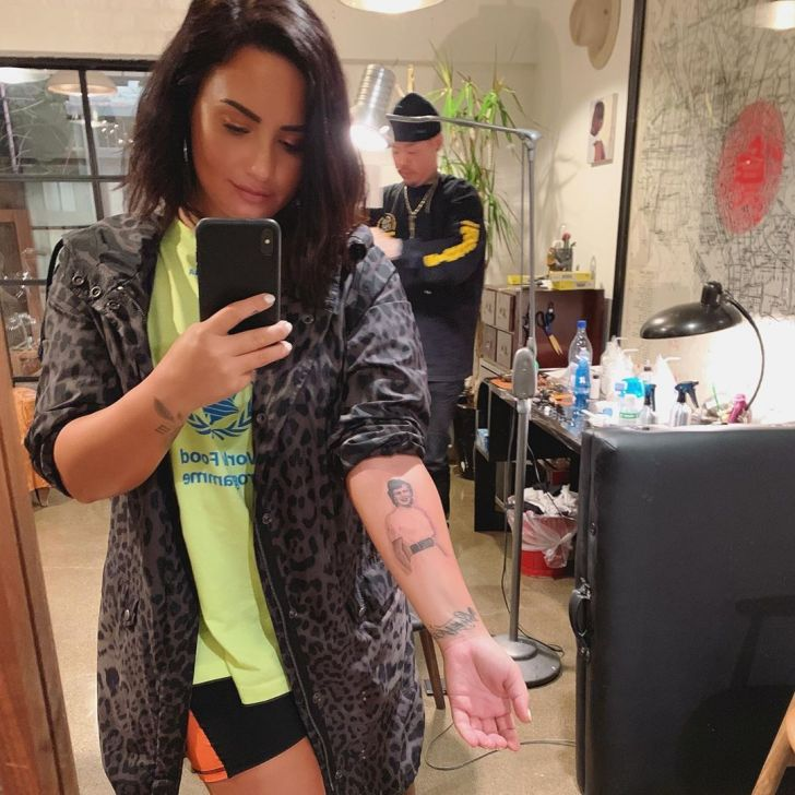 Demi Lovato is the Best Celebrity Tattoos of all Time