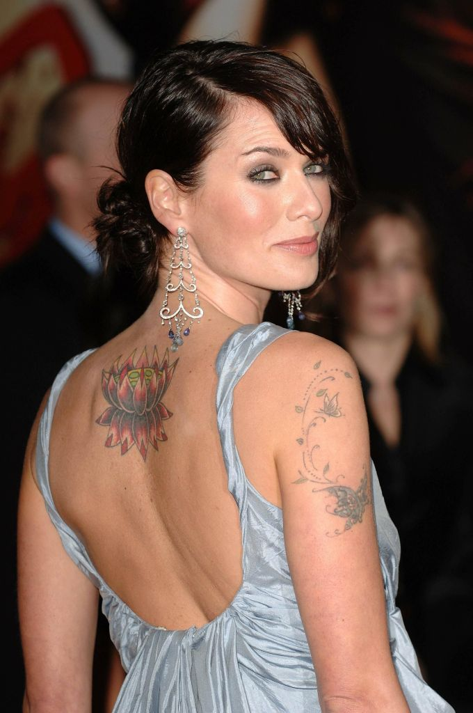 Lena Headey is the Best Celebrity Tattoos of all Time