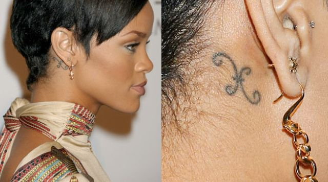 Rihanna is the Best Celebrity Tattoos of all Time