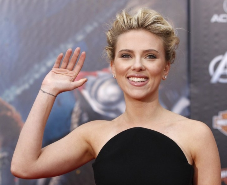 Scarlett Johansson is the Best Celebrity Tattoos of all Time